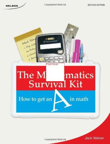 9780176500177: CDN ED The Mathematics Survival Kit