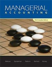 CDN ED Managerial Accounting: Brenda Mallouk, Gary