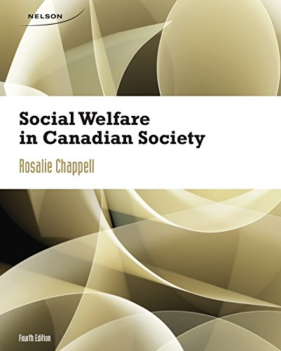 Social Welfare in Canadian Society: Chappell, Rosalie