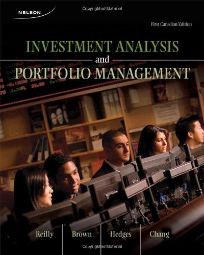 9780176500696: Investment Analysis and Portfolio Management