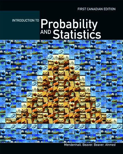CDN ED Introduction To Probability and Statistics: William Mendenhall, Ejaz