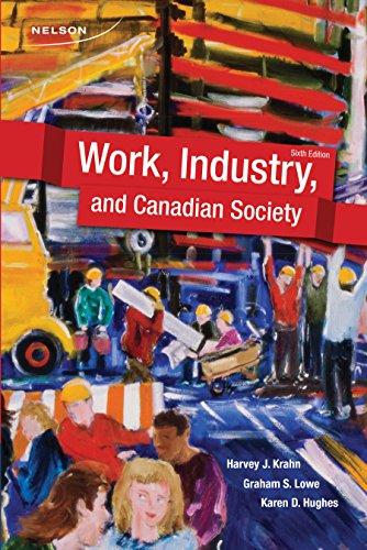 WORK,INDUSTRY,+CANADIAN SOC.>C: Krahn, Harvey J.;