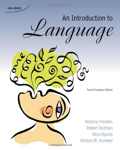 9780176501198: An Introduction to Language, 4th Edition