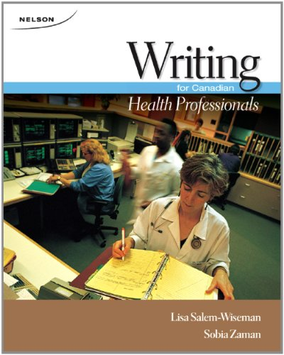 9780176501488: Writing for Canadian Health Professionals