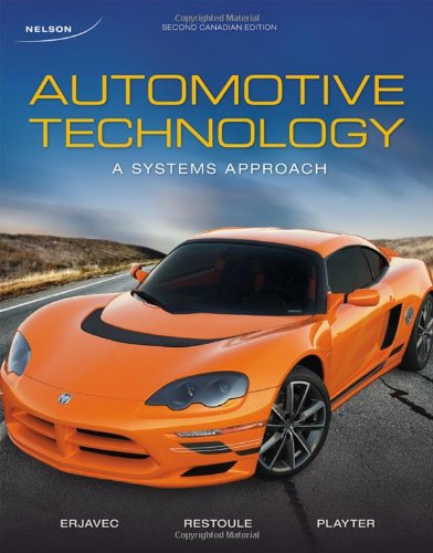 9780176501679: Automotive Technology: A Systems Approach, Second Canadian Edition