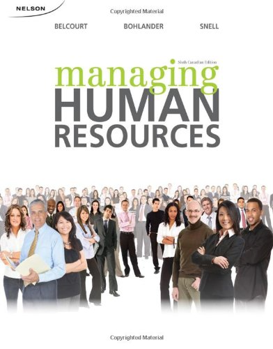 9780176501785: CND ED Managing Human Resources