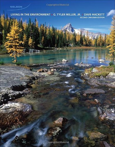 9780176501846: Living in The Environment: Second Canadian Edition
