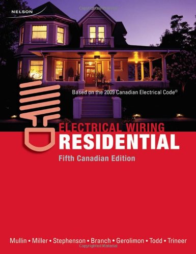 Superb Cdn Ed Electrical Wiring Residential By Ray C Mullin Gary Miller Wiring Cloud Toolfoxcilixyz