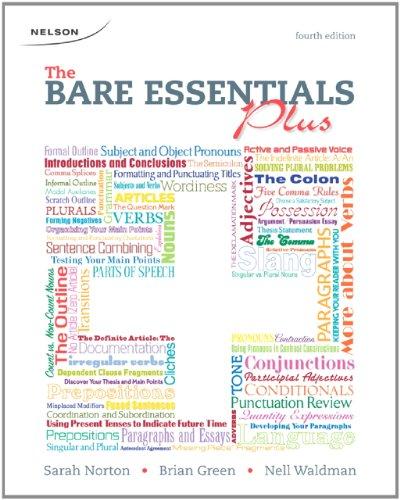 9780176502171: The Bare Essentials Plus