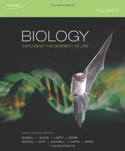 9780176502300: Biology: Exploring The Diversity Of Life Volume 2
