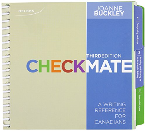9780176502560: Checkmate A Writing Reference for Canadians