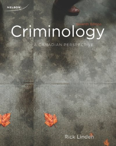 criminology a canadian perspective pdf