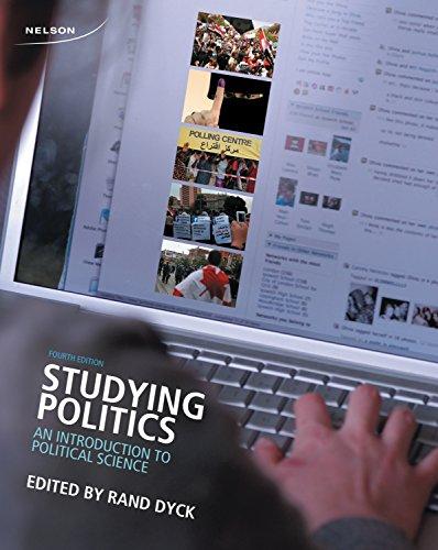 9780176503420: STUDYING POLITICS