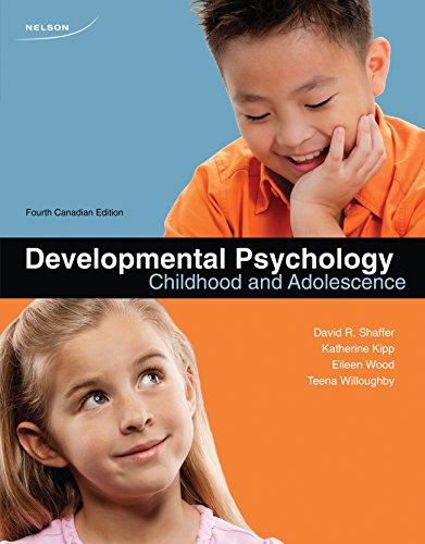 9780176503499: Developmental Psychology: Childhood and Adolescence