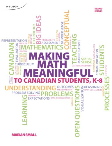 Making Math Meaningful to Canadian Students K-8: Marian Small
