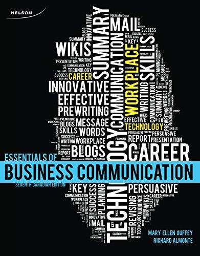 9780176503574: Essentials of Business Communication