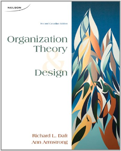 9780176503680: Organization Theory and Design