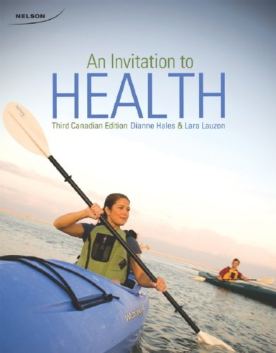 9780176503765: An Invitation to Health (Third Canadian Edition)