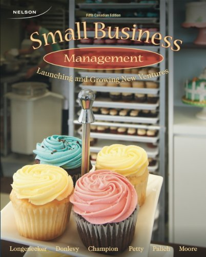 9780176503901: Small Business Management: Launching and Growing New Ventures