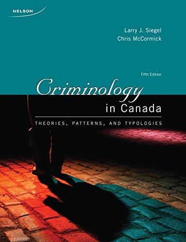 9780176503918: Criminology in Canada