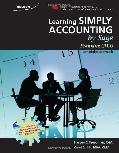 9780176504090: Learning Simply Accounting by Sage Premium 2010