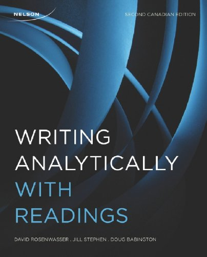 9780176504465: Writing Analytically with Readings