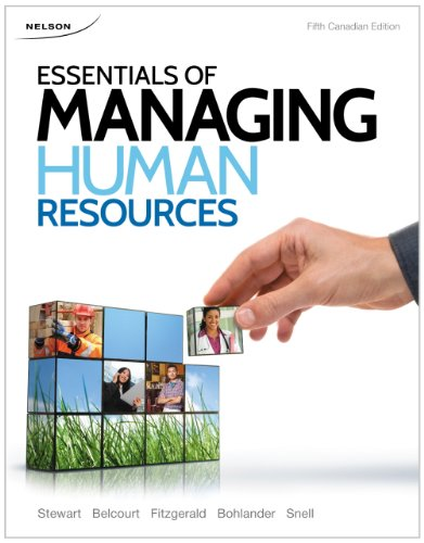 9780176506926: Essentials of Managing Human Resources