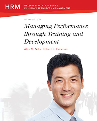 9780176507336: Managing Performance through Training and Development
