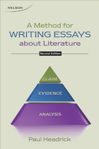 9780176508609: Method for Writing Essays about Literature