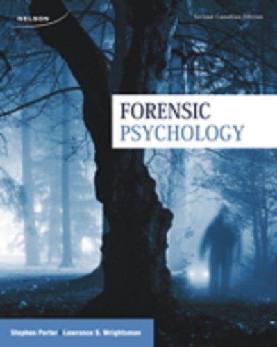 9780176509361: Forensic Psychology