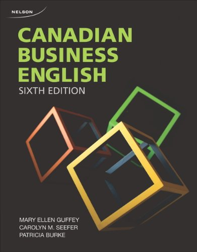 9780176509439: Canadian Business English , 6th Edition