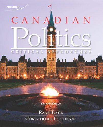 9780176509460: CANADIAN POLITICS