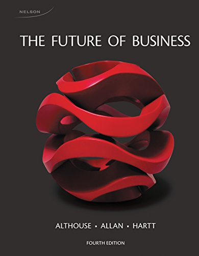 9780176509637: The Future of Business