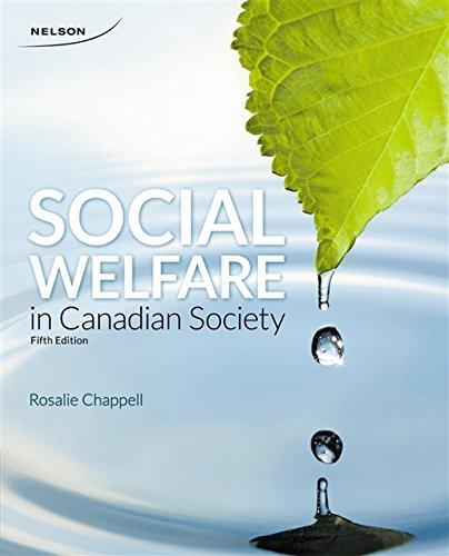 9780176515430: Social Welfare in Canadian Society