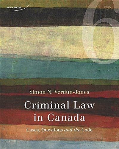 9780176529529: Criminal Law in Canada: Cases, Questions, and the Code