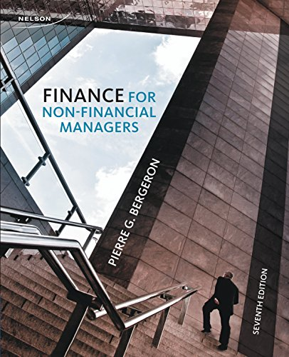 9780176530839: Finance for Non-Financial Managers