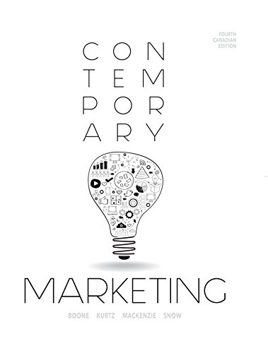 9780176530921: Contemporary Marketing Fourth Canadian Edition