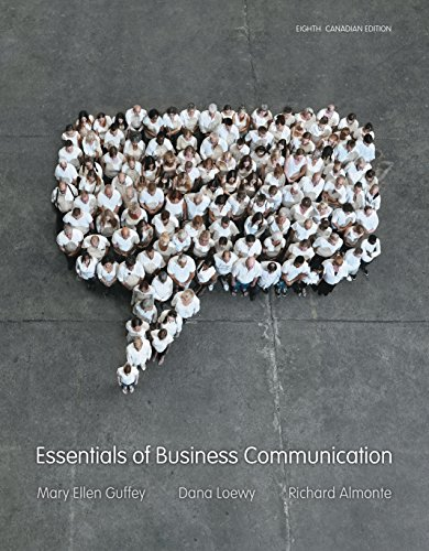 9780176531409: Essentials of Business Communication
