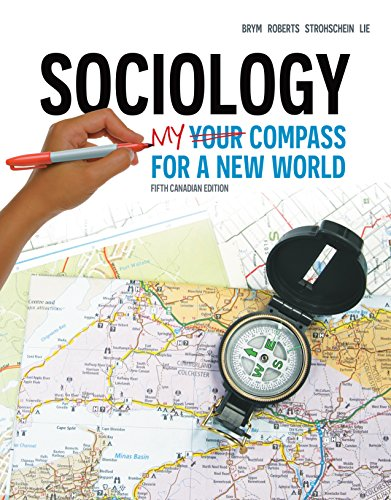9780176532031: Sociology My Compass for a New World: Fifth Canadian Edition