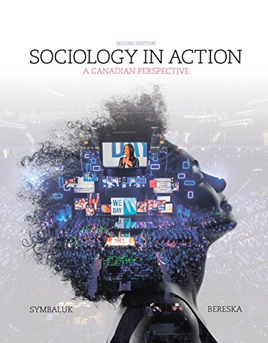 9780176532048: Sociology in Action: A Canadian Perspective