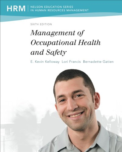 9780176532161: Management Of Occupational Health And Safety
