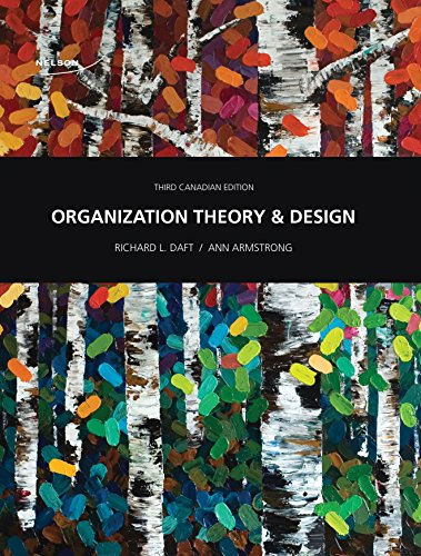 9780176532208: Organization Theory and Design