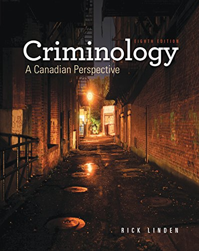 9780176562069: Criminology: A Candian Perspective 8th Edition