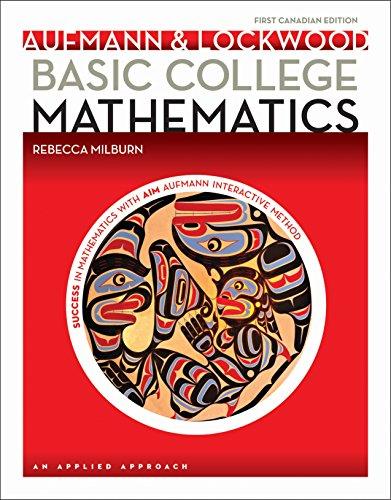 9780176562083: Basic College Mathematics: An Applied Approach