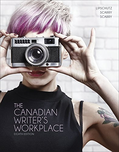 9780176582548: The Canadian Writer's Workplace, 8th Edition
