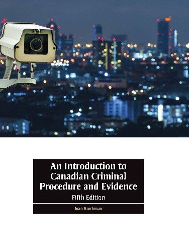 9780176588267: An Introduction to Canadian Criminal Procedure and Evidence