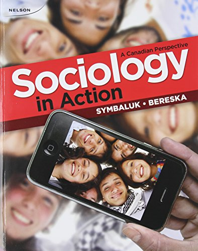 9780176648817: Sociology in Action A Canadian Perspective