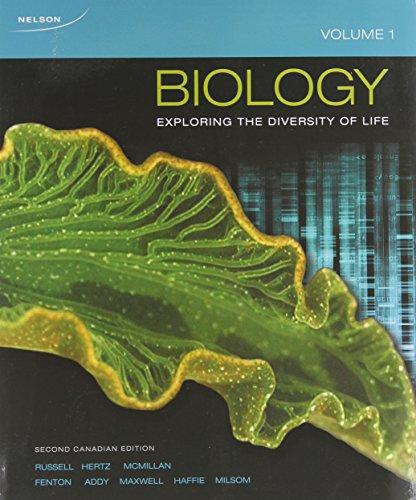 9780176651312: Biology: Exploring the Diversity of Life, Volume 1