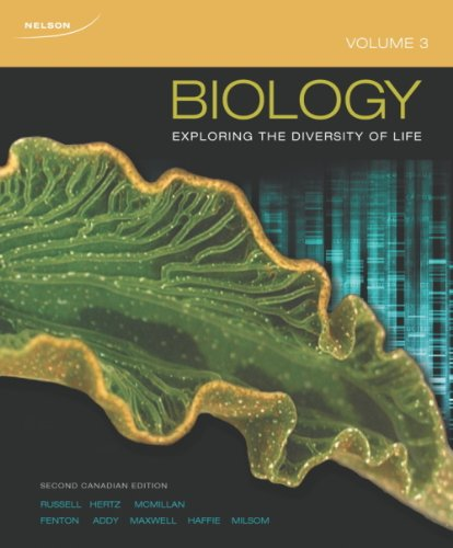 9780176651336: Biology: Exploring the Diversity of Life, Volume 3