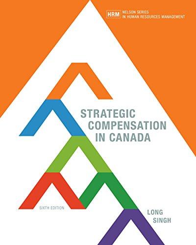 9780176657161: STRATEGIC COMPENSATION IN CANADA